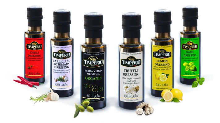 Drizzling a few drops of flavoured extra virgin olive oil (EVOO) makes a huge difference to the taste of most dishes