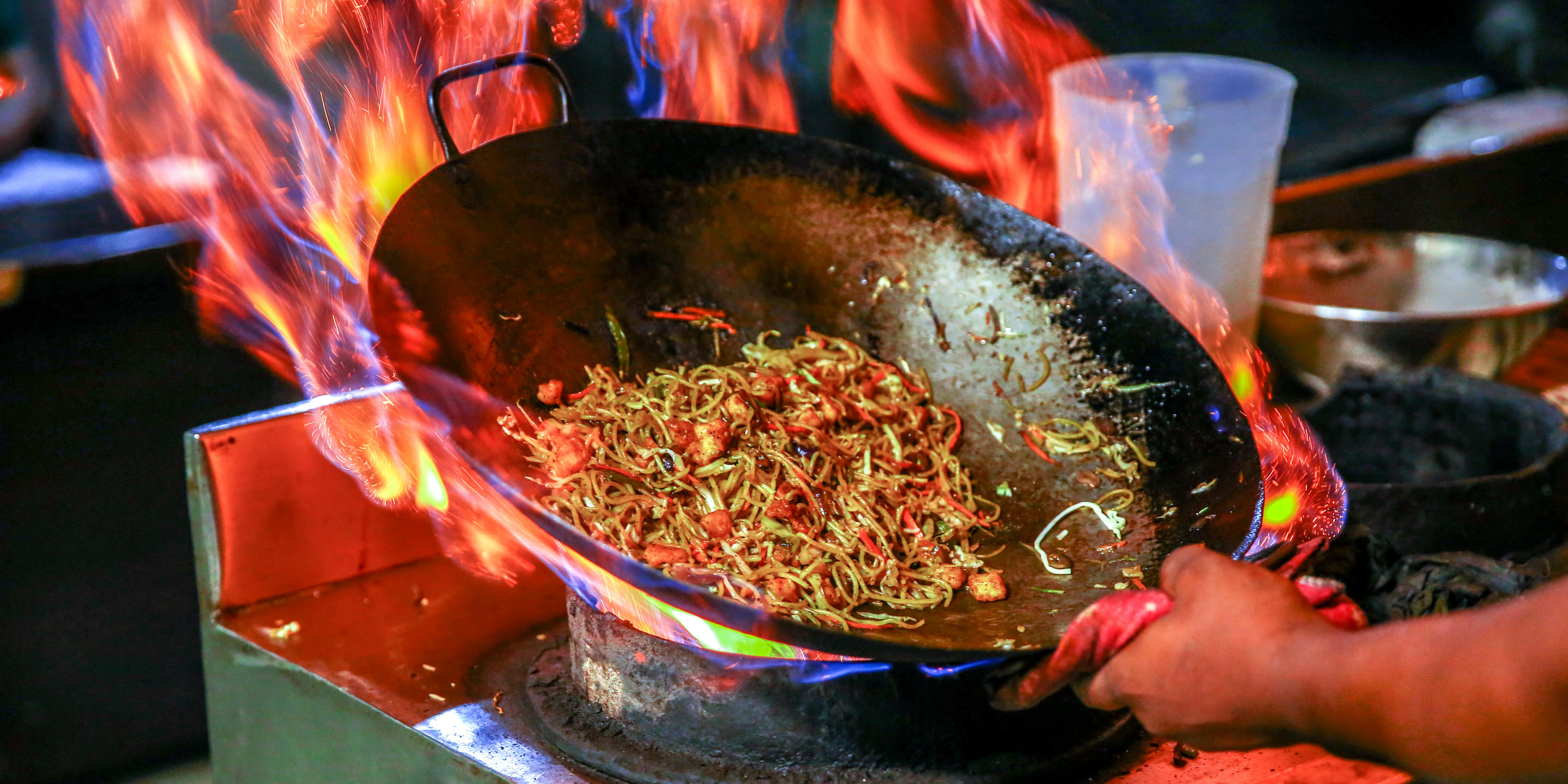 Olive oil Asian cuisine