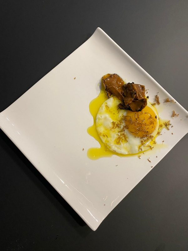Fried egg with Truffle